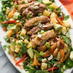 Thai Salad with Crispy Chicken