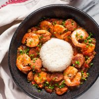 Shrimp and Sausage Gumbo (Instant Pot or Not)