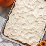 Gluten-free Pumpkin Sheet Cake