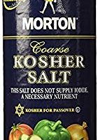 Morton Coarse Kosher Salt 16 oz. (Pack of 2)