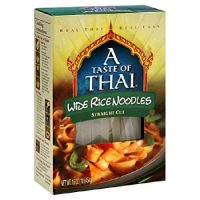 Taste Of Thai Noodle Rice gluten free Extra wide, 16 oz